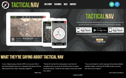 Tactical NAV's Product Home Page